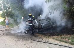 BMW făcut scrum pe Valea Cladovei