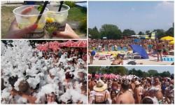 Strandul Neptun plin ochi în cel mai fierbinte weekend din această vară