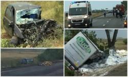 Accident mortal între Zerind şi Chișineu-Criș. O femeie şi-a pierdut viaţa [Galerie FOTO]