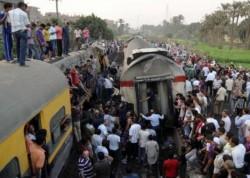 Accident feroviar în Egipt! Peste 30 de morţi şi 100 de răniţi