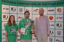 Partida care a decis învingătorul, la turneul internatinal de Şah 2017 de la Arad