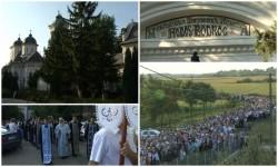 Credincioșii în număr foarte mare la Mănăstirea Hodoș Bodrog, de Sfânta Maria