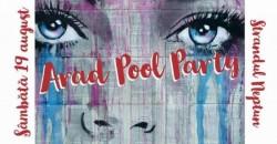 Arădenii sunt așteptați în număr foarte mare, SĂMBĂTĂ 19 august la Pool Party , pe ștrandul Neptun ! AFLĂ detalii