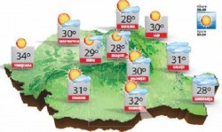 ANM are noi avertizări meteo !