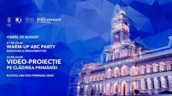 Poveștile de succes ale Aradului, proiectate pe clădirea Palatului Administrativ