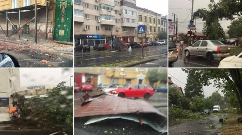 Ghidul Arădean avertiza încă de marţi, că o furtună puternică va lovi vestul ţării!