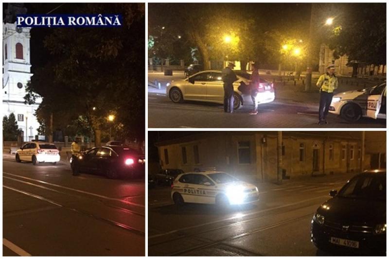 Se înteţesc raziile poliţiştilor în municipiul Arad!