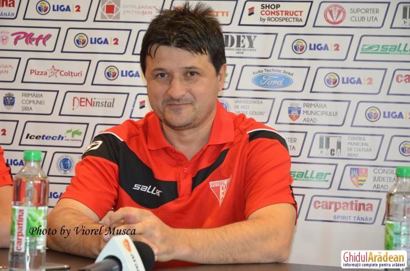 Adrian Falub a dezertat şi e posibil să semneze cu U Cluj! Goana după antrenori continuă la UTA!