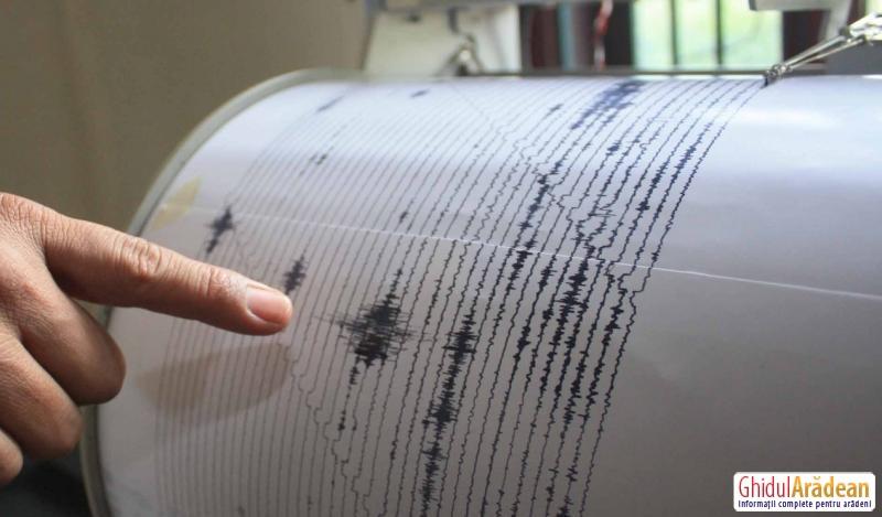 CUTREMUR de 4,3 grade pe scara Richter produs în România