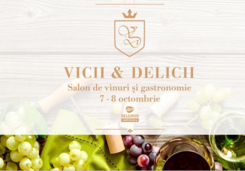 Vicii & Delicii, târg de vinuri și salon gastronomic la Expo Arad