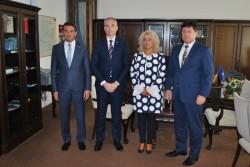 Consulul General al Republicii Serbia la Timișoara, în vizită la Arad