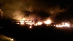 Cinci răniți, într-o explozie  la Orăștie la o fabrică de vopseluri