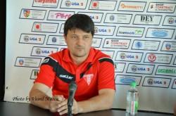 Conferinţă de presă UTA- DUNĂREA CĂLĂRAŞI: Declaraţii prudente din partea antrenorului Falub