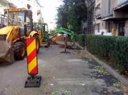 Se lucrează pe străzile N. Grigorescu şi G. Barițiu