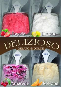(P) Înghețata DELIZIOSO cea mai irezistibilă înghețată din Arad !