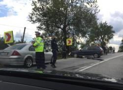 Accident fatal între Şagu şi Vinga! O persoană a decedat după ce a pierdut controlul motocicletei şi a intrat într-o maşină!
