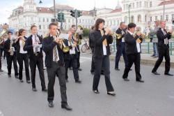 Fanfarele au încântat arădenii  sâmbătă după amiaza în Parcul Reconcilierii
