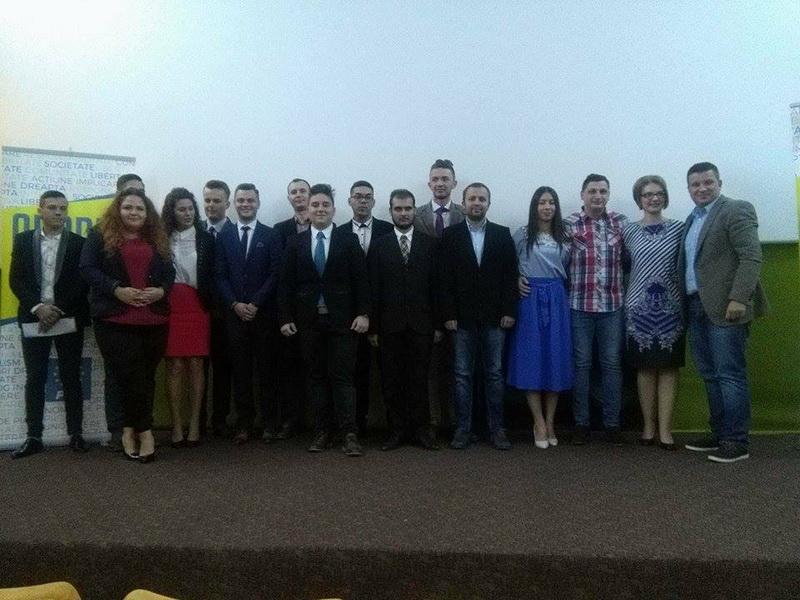 Tinerii liberali arădeni şi-au ales conducerea la nivel municipal