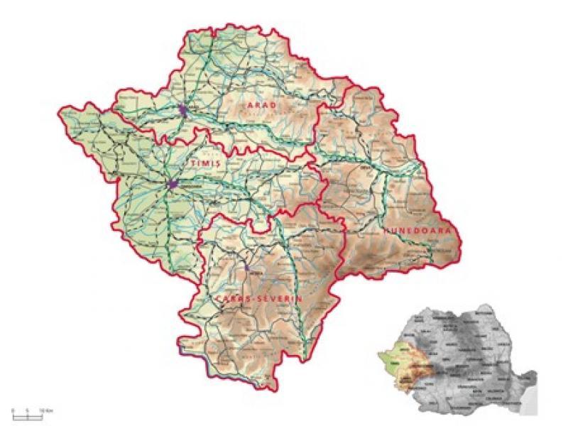 Regiunea Vest a României a cerut Comisiei Europene încă 25 de milioane de euro