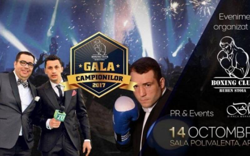 Gala Campioniolor aduce la Arad nume grele ale boxului românesc