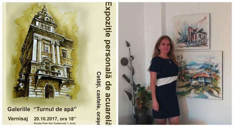 Invitaţie la vernisajul semnat Aneta Beatrice Filip