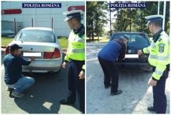 Razie a poliţiştilor arădeni pentru combaterea transportului ilegal de persoane