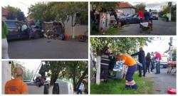 GRAV accident de circulație cu descarcerare în Grădiște !