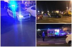 Urmăriri în trafic, pistoale, cătuşe, accident şi răniţi pe străzile Aradului! Un şofer de 19 ani a făcut prăpăd în spatele Teatrului Ioan Slavici!
