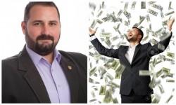 Cosmin Buruc, expertul PSD-ist în credite, ne dă o  adevărată lecţie de cum să trăieşti din bani puţini şi să plăteşti credite de miliarde