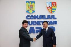 O delegaţie de oameni de afaceri din China interesată de oportunităţile economice din Arad