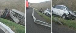 Accident pe Autostrada Timişoara – Arad. Un bărbat în stare gravă, iar un altul refuză ajutorul medical