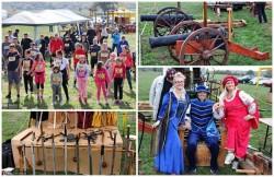Sute de arădeni s-au întrecut la Semimaratonul Medieval BIZARE