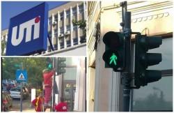 Răspunsul oficial al UTI în urma imaginilor cu semaforul de pe strada Mărăşeşti, lipit cu bandă adezivă