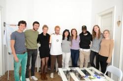 """Voluntari străini veniţi la Arad în proiectul: """"Step up. Build your career"""""""