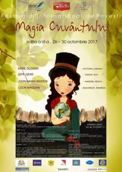"""Festivalul Internațional de Povești """"Magia Cuvântului"""" gata de start"""
