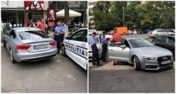 AUDI-ul care a băgat în boală Poliţia Română