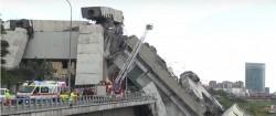 TRAGEDIE în Italia. Cel puțin 22 de morți după ce un viaduct s-a prăbușit