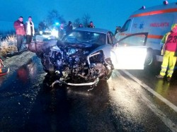GRAV accident rutier la Șagu. Doi copii au fost răniți