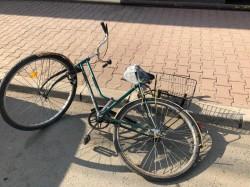 Biciclist accidentat de un șofer neatent, pe strada Andrei Șaguna