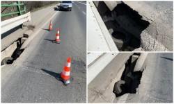 Restricţii de circulaţie pe podul  Micălaca care leagă cartierele Subcetate � ...