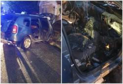 Duster distrus de un incendiu produs intenționat în Vladimirescu