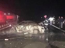 Şoferul care a produs accidentul de pe A1 de joi seara în care a murit un copil ...