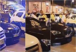 Rupt de beat la volan, luat pe sus de polişti luni seara în sensul giratoriu de ...