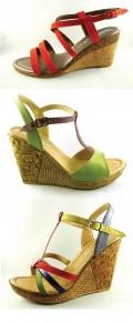 Castiga sandale de vara cu Lore Blu Shoes