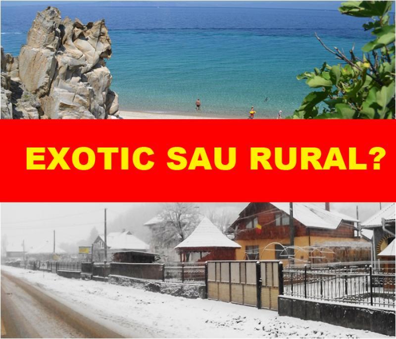 EXOTIC sau RURAL ? Românii au cheltuit MILIOANE DE EURO pentru vacanța de sărbători. Vezi care au fost destinațiile preferate!