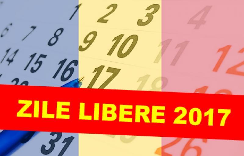 În acest an românii au mai multe zile nelucrătoare! Vezi calendarul zilelor libere pentru anul 2017!
