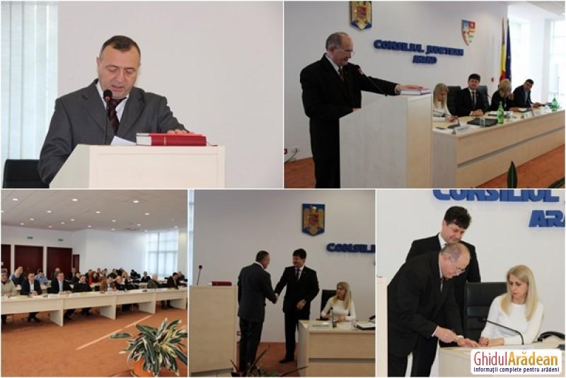 Consiliul Judeţean Arad are doi noi consilieri