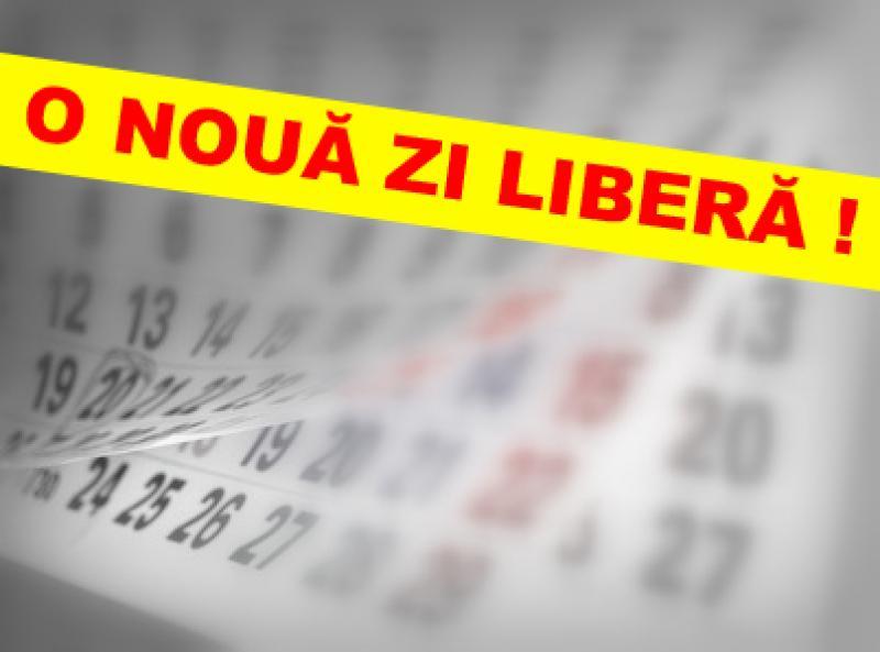 Guvernul a declarat o nouă zi liberă !!!