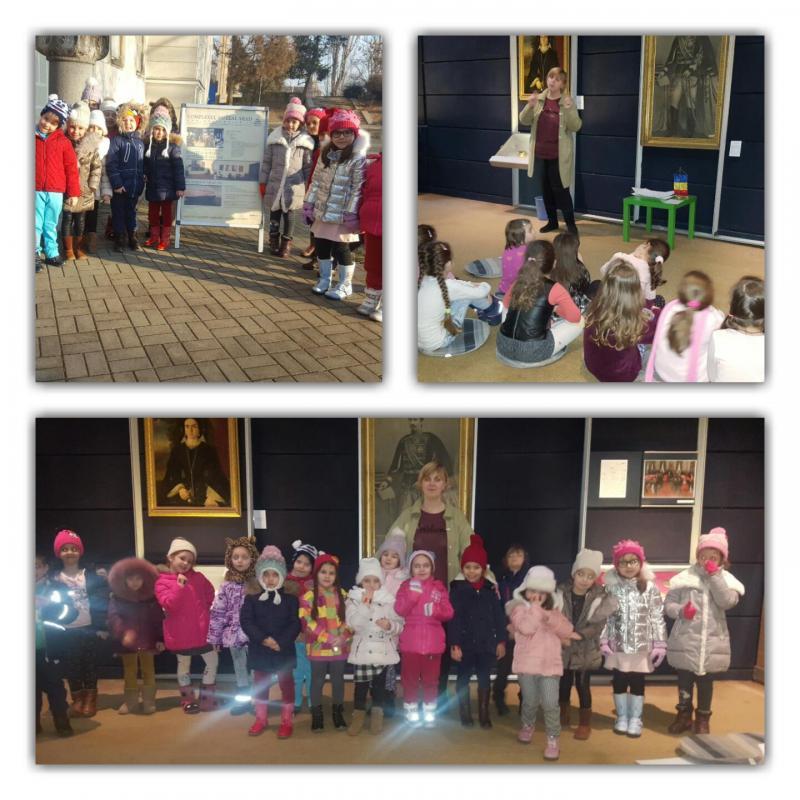 Preşcolarii de la Grădinița Bambi au vizitat Complexul Muzeal Arad ! VEZI GALERIE FOTO