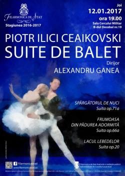 O seară specială, dedicată suitelor de balet la Filarmonica din Arad